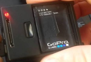 GoPro Won't power on Red Light